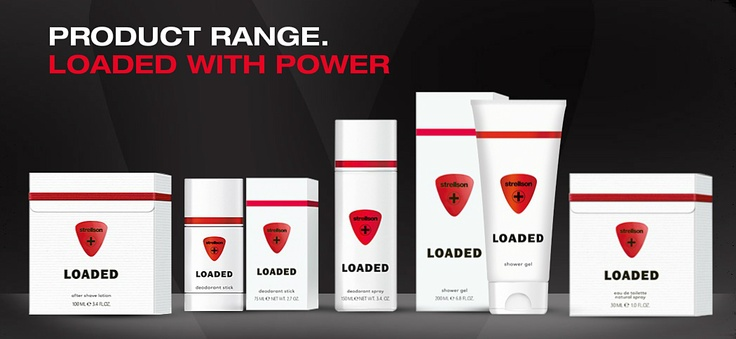 The complete Strellson LOADED range. Highly charged and full of power.