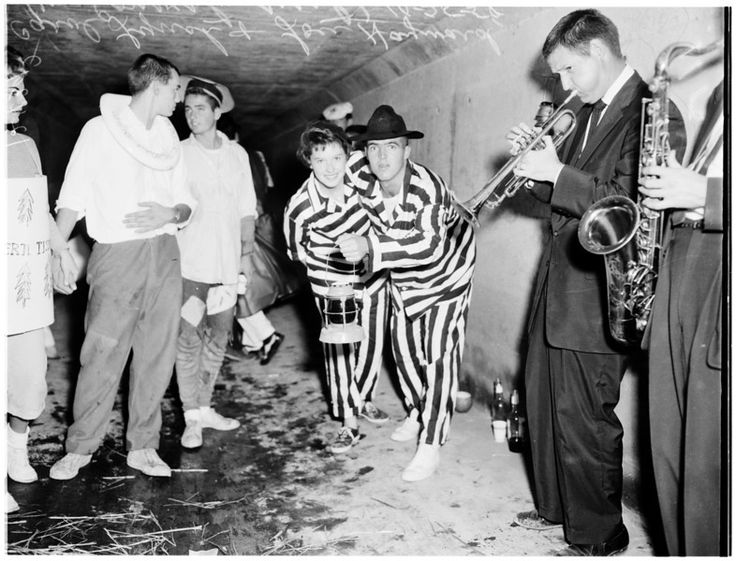 University of Southern California sewer party, 1958