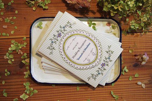 結婚式プロフィール帳