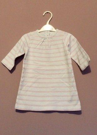 À vendre sur #vintedfrance ! http://www.vinted.fr/mode-enfants/robes-courtes/32593217-robe-blanche-et-rose-petit-bateau