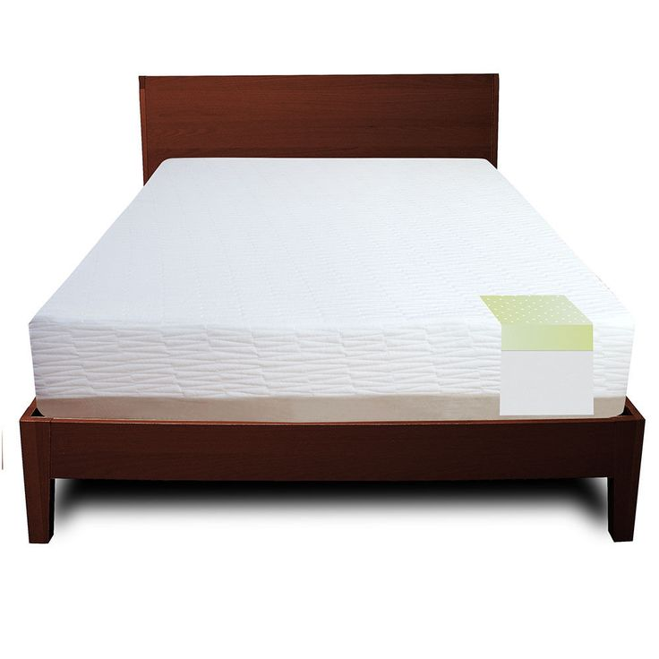Quality Sleep Natural Talalay Latex Foam 11 Inch Mattress