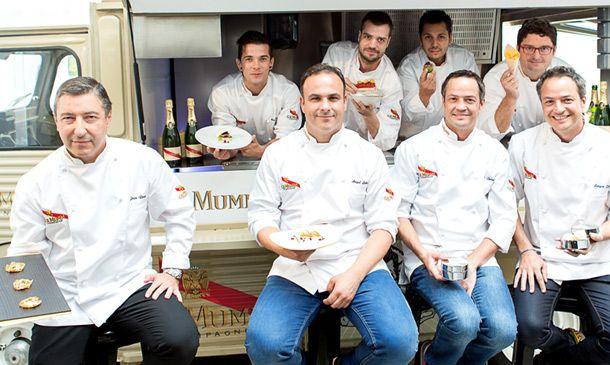Alta cocina y 39 street food 39 con joan roca ngel le n y for Cocina hermanos torres