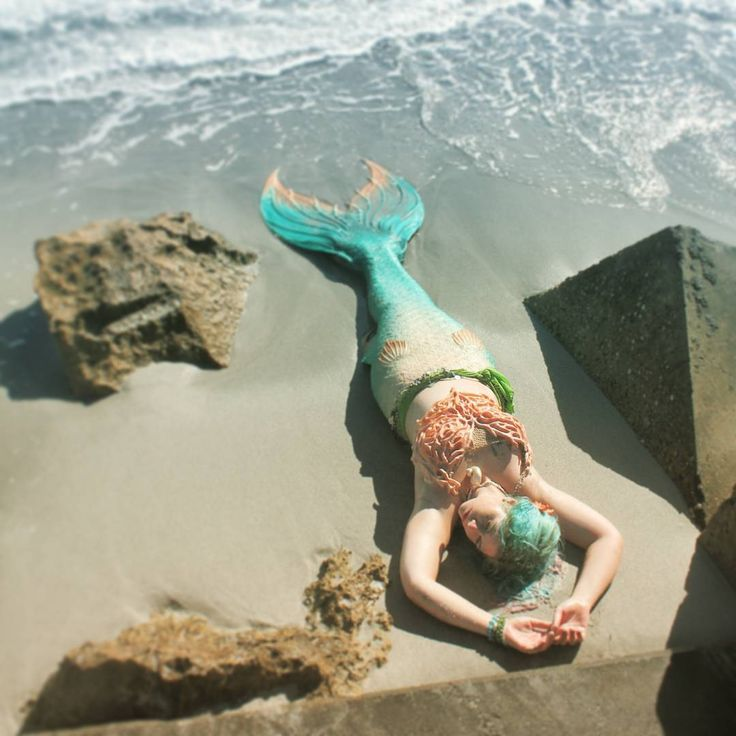 Found some gems from old photo shoots once again. Will show you a few over the next week I think! This one by @mermaid_amelia as per usual. Tail by @finfolkproductions. #mermaid #mermaids #mermaidtail...
