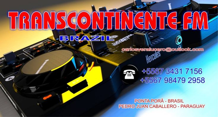 TRANSCONTINENTE FM BRAZIL PONTA PORÃ-MS