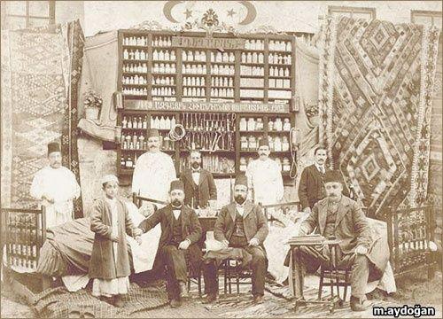 Ermeni Hastanesinin doktor kadrosu, Kayseri, 1903