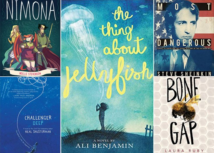 The National Book Awards just announced the finalists for the 2015 Young People's Literature Award. Here's a closer look at the five nominees.