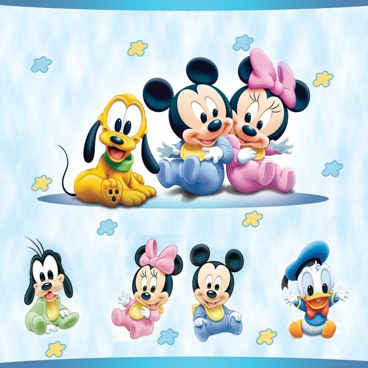 Painel Disney Baby, Faixas, Border Decorativa e Papel de Parede Infantil e Adesivos