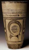 Bicchiere di Susa; fine V millennio a.C.; pittura su ceramica;tomba di Susa, attuale Iran; Musée de Louvre, Parigi