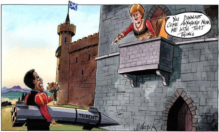 Nicola Sturgeon (SNP): You Dinnae Come Anywhere Near Me With That Thing. Ed…