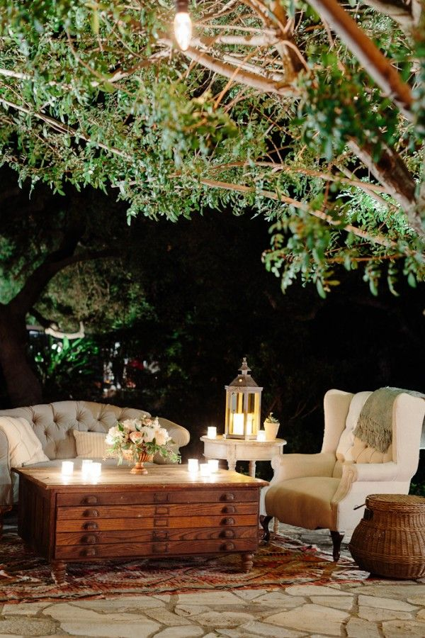Outdoor Wedding Sofas
