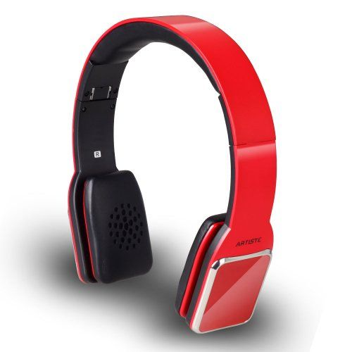 Gesture Super Hifi Stereo Wireless Bluetooth 4.0 NFC Headset Headphone,Adjustable Headband/Hand-free Calling/Wireless Music Streaming (Red) Bluetooth 4.0 Low Power Consumption. Built-in CVC Echo Cancellation. Gesture Recognition. NFC;Double Mic. Display Headset Battery on iPhone, iPad, iPod.  #Hossen #Wireless