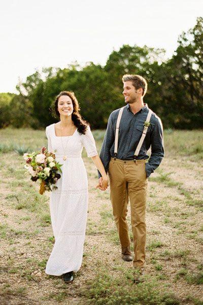 образ жениха и невесты бохо