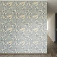 Image result for wave wallpaper for walls