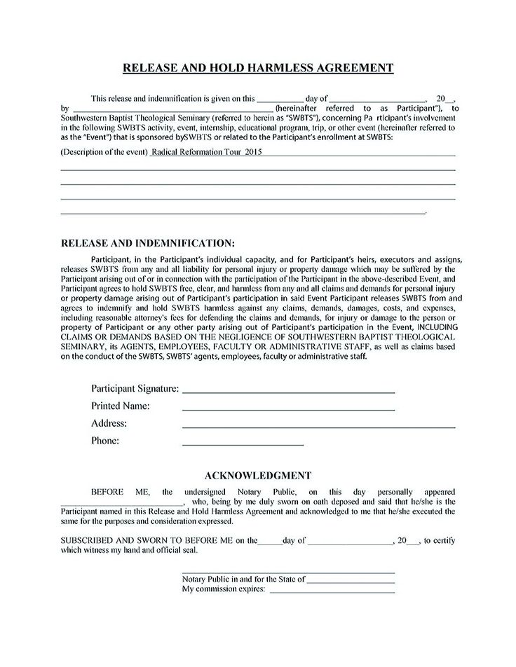 hold harmless agreement pdf , Making Hold Harmless Agreement Template for Different Purposes , Hold harmless agreement template will help you make an agreement to protect your property and belongings. You can download the template in the internet.