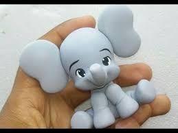 Resultado de imagem para elefante de biscuit com 30 cm