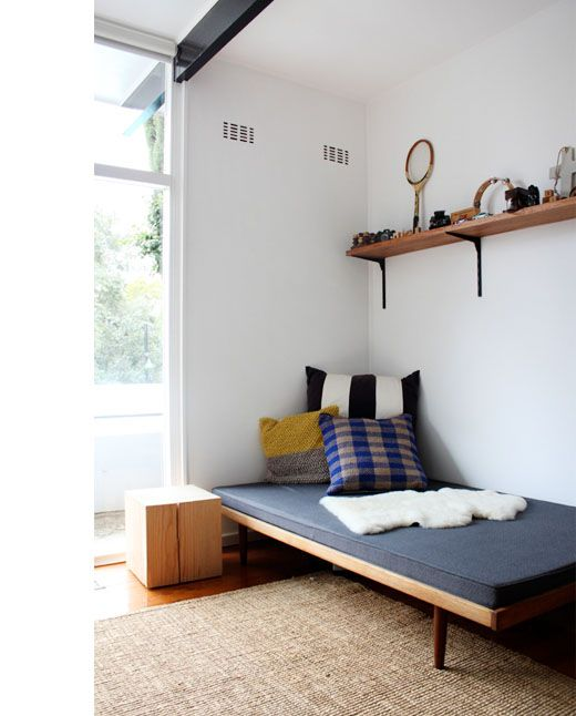 Reminder of what a very pared back spare room might look like