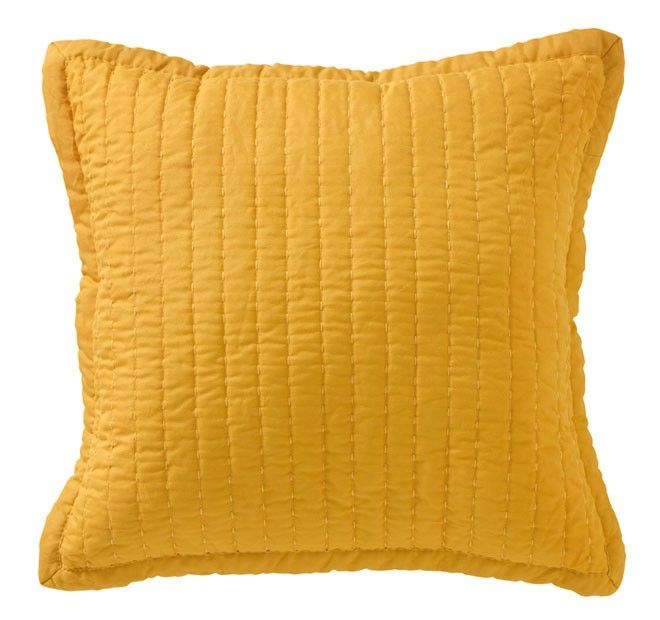 Vivid Coordinates 43x43cm Filled Cushion Gold - Shop