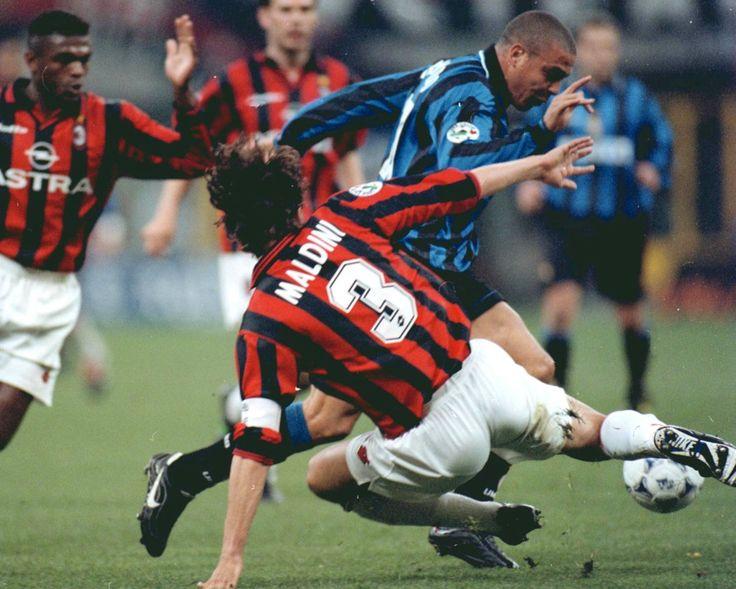Ronaldo v Maldini - Inter Milan v AC Milan