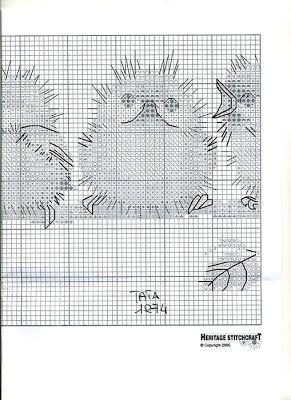 Graficos de aves en punto de cruz ~ Solountip.com