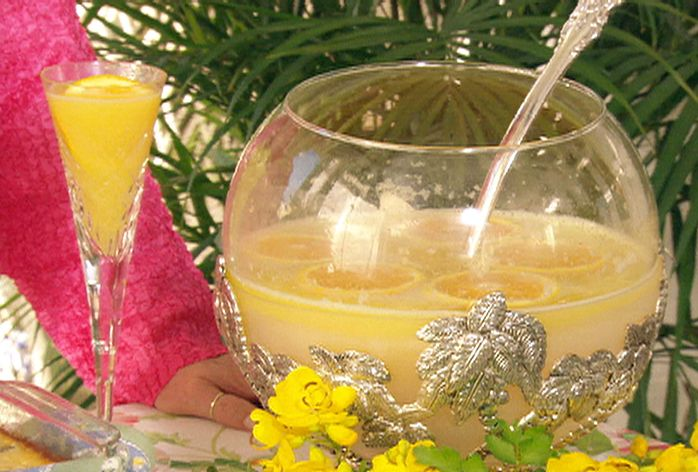 Mimosa Punch Recipe : Paula Deen : Food Network - FoodNetwork.com