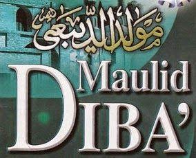 Teks Bacaan Kitab Maulid Diba Lafadz Lirik Dan Syair Qasidah