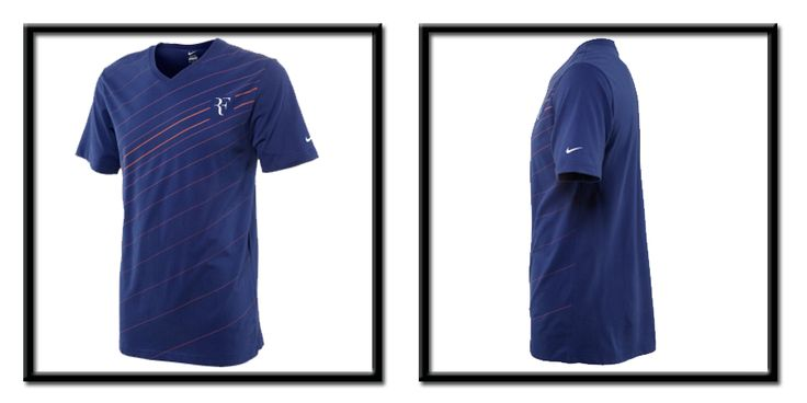#camisetasnike #camisetasfederer Camiseta nike para hombre roger federer