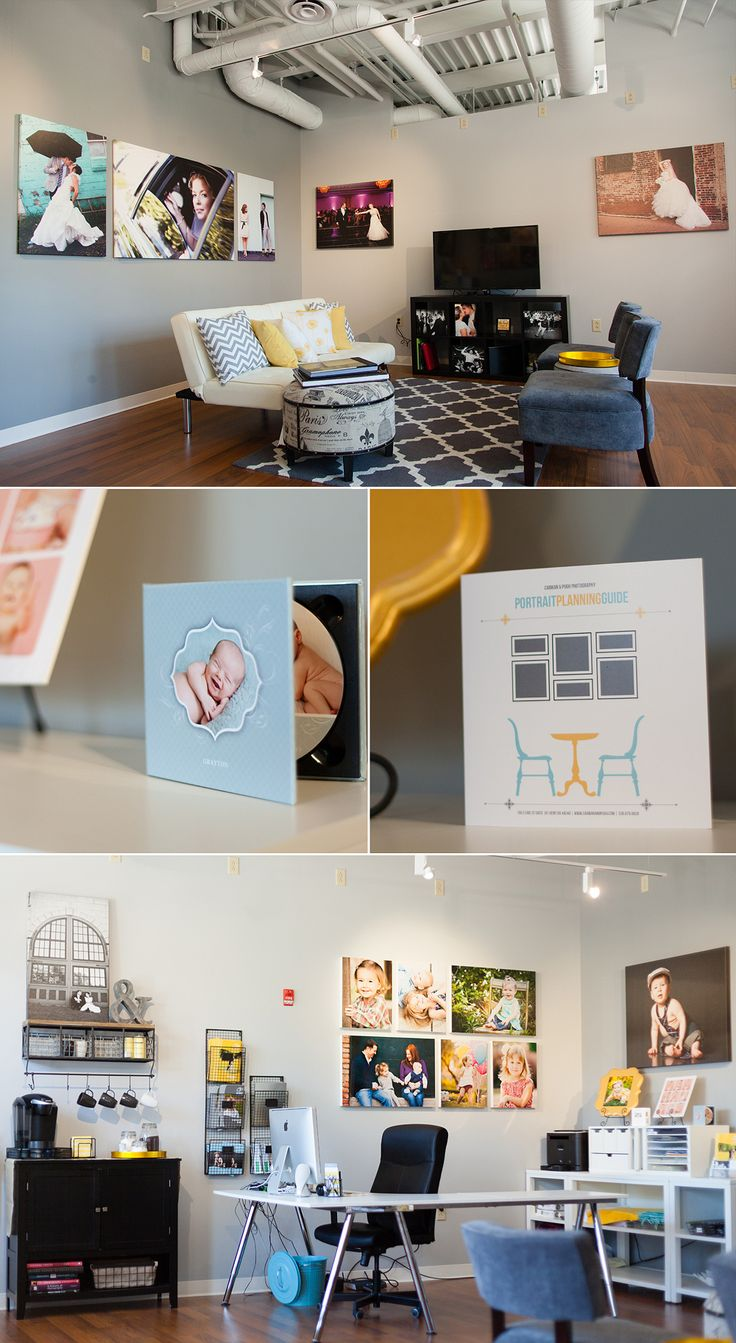 Take a tour of our new photography studio! » Akron Wedding and Portrait Photographers Carman & Pugh Photography