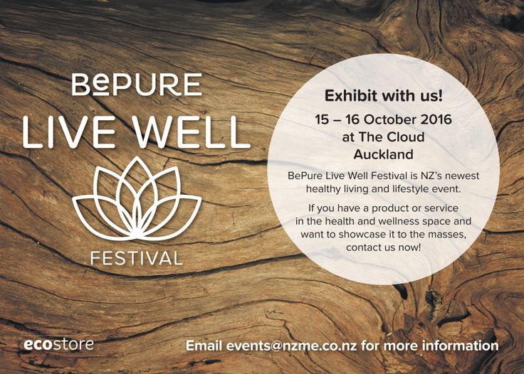 Get a free bottle of B-Well Alkaline water this weekend at the #livewell festival in Auckland! One in every goodie bag :)