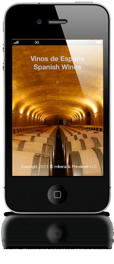 Calificaciones y tabla de añadas de vinos españoles. Disponible en la Apple App Store.