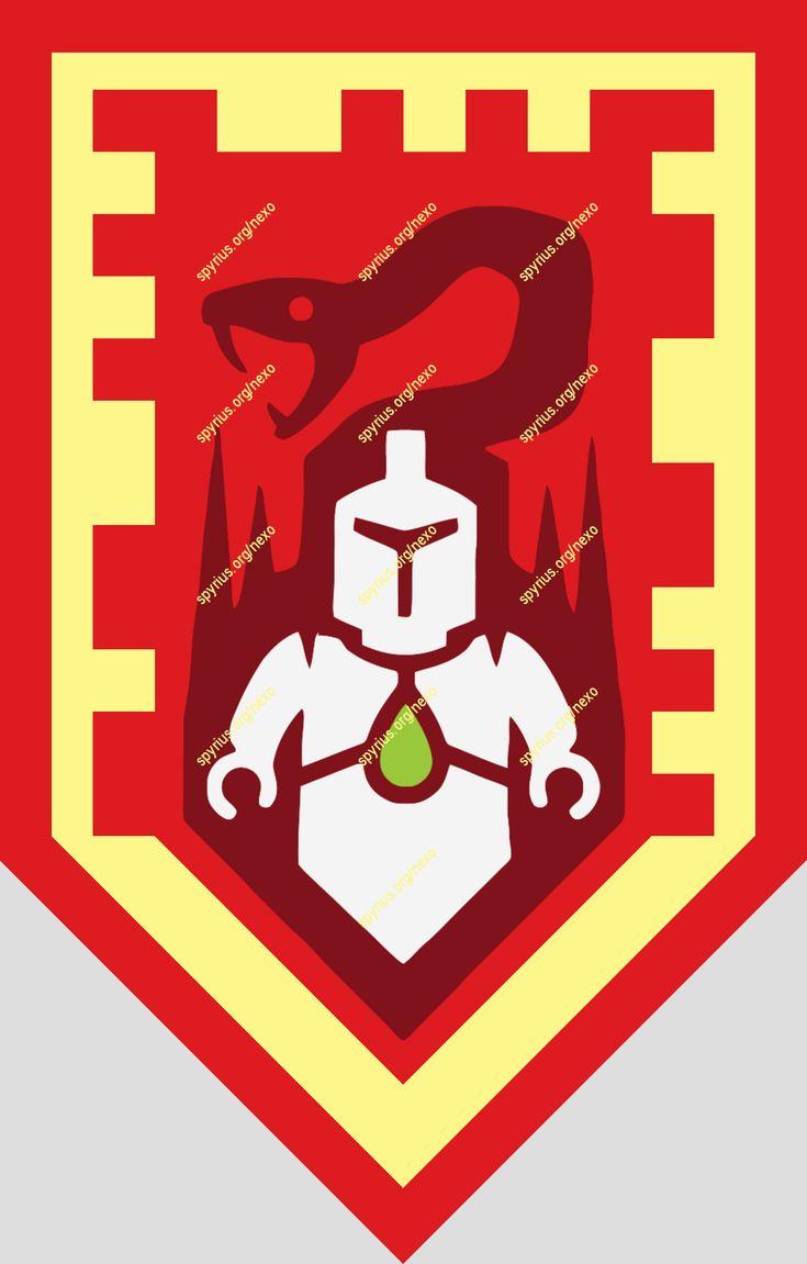 Crossbow Merlok Nexo Knights Shield