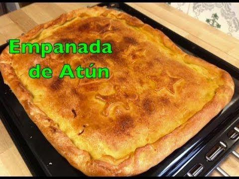 Receta: Empanada de atún (receta de masa para empanada) (gallega) - YouTube