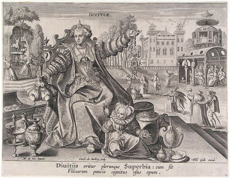 Maarten de Vos, Divitiae (Circulus Vicissitudinis rerum Humanarum)