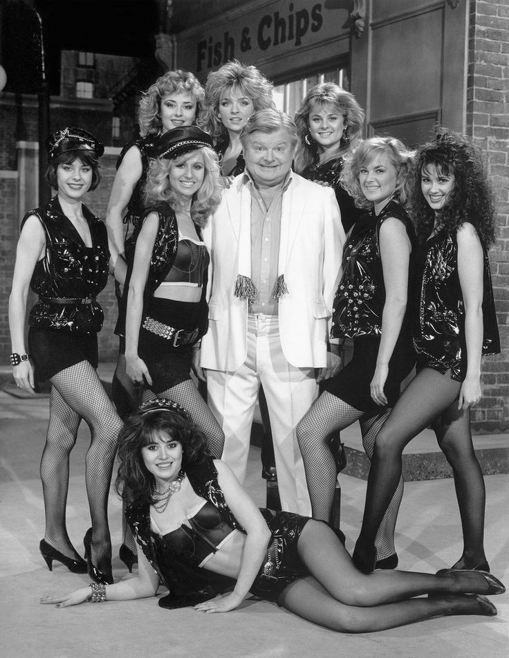 Benny Hill always had lovely ladies on his show...