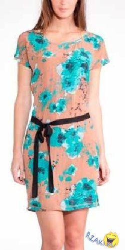 Простое летнее платье