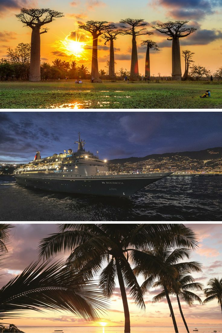 Fred. Olsen Cruise Line's first ever fly & cruise to the Indian Ocean  Islands of the Indian Ocean, 14-night cruise from £2,399pp including flights from Gatwick or Manchester #Madagascar  #Cruise #Travel #IndianOcean #Mauritius #Seychelles