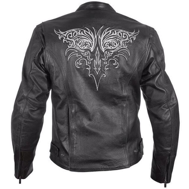 Love it Collarless jacket, Jackets, Leather armor