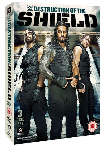 More Details and Matches for WWE's Destruction of The Shield DVD and Blu-ray Set - http://www.wrestlesite.com/wwe/details-matches-wwes-destruction-shield-dvd-blu-ray-set/