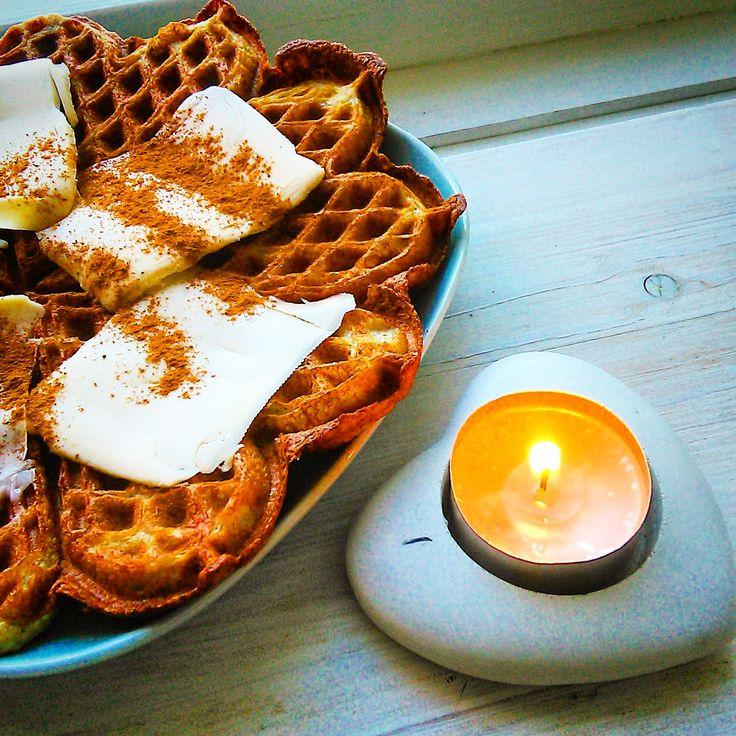 Paleovaffel - uten gluten, melk og sukker
