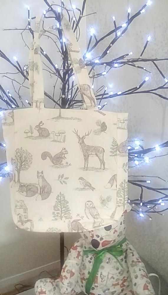Check out this item in my Etsy shop https://www.etsy.com/uk/listing/509337420/shopping-bag-tote-bag-forest-theme-beach
