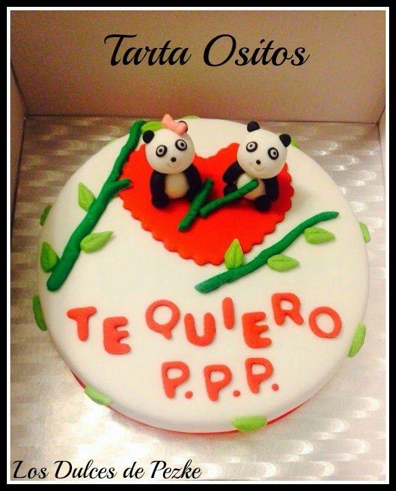 Los dulces de Pezke: Tarta Ositos Panda