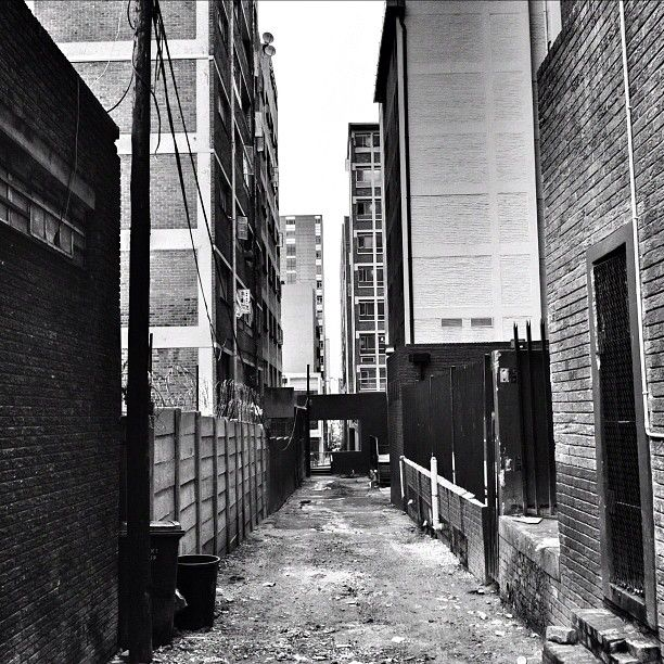 Rainy days in Braamfontein. Photograph by @roywrench. #johannesburg #photography #instagram
