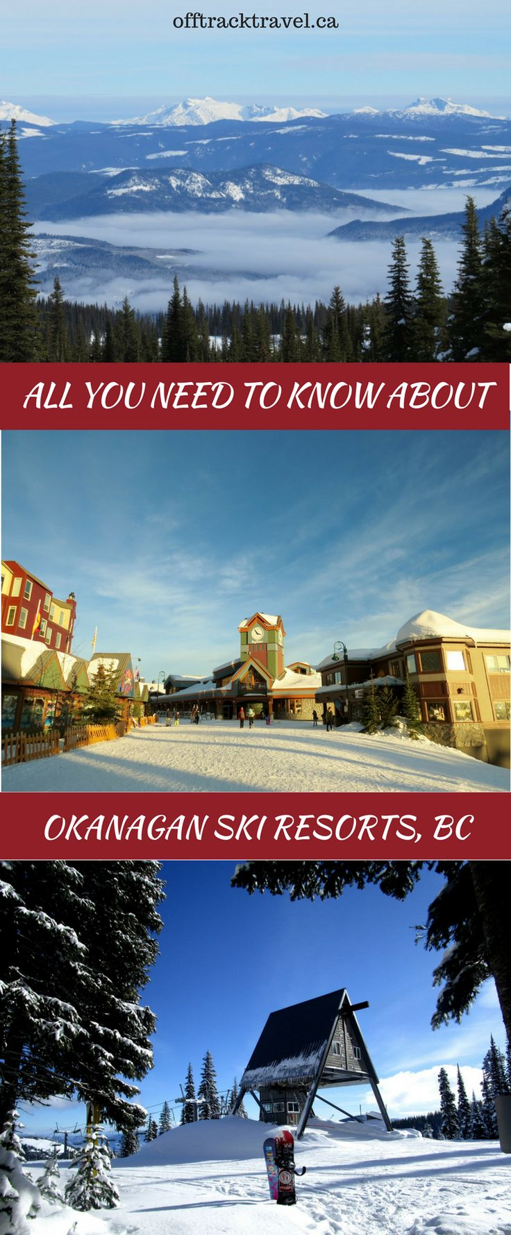 Sun Peaks, Silver Star, Big White, Mt Baldy and Apex Mountain - 5 fantastic resorts with the legendary Okanagan champagne powder. Here's everything you need to know for your next Okanagan ski trip