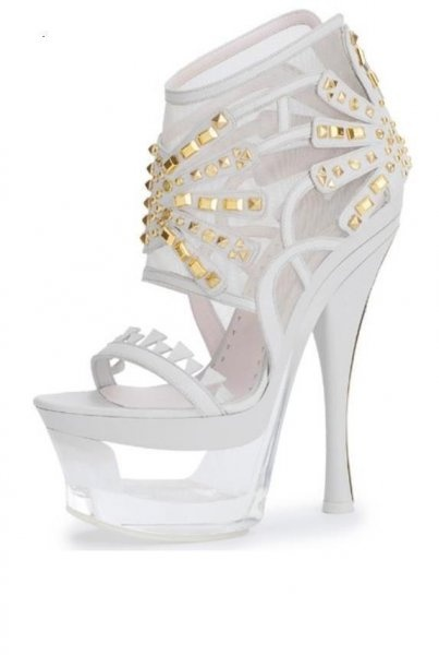 Versace shoes- Think I just died and went to heaven