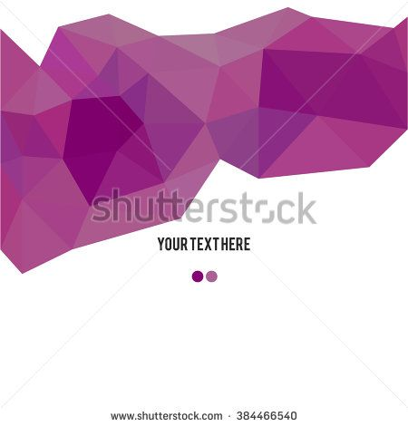 Low Poly, Polygon Geometry Background. Abstract Polygonal Geometric Shape. Low poly Minimal Style Art. Vector Illustration - stock vector