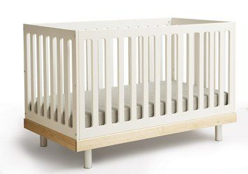 A gorgeous classic for those who don't mind the price tag.  Oeuf Crib Birch
