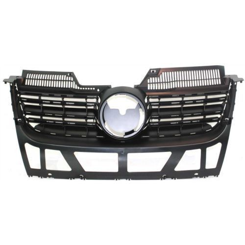 Cool Volkswagen 2017: 2005-2010 Volkswagen Jetta Grille, Matte Black... Car24 - World Bayers Check more at http://car24.top/2017/2017/05/06/volkswagen-2017-2005-2010-volkswagen-jetta-grille-matte-black-car24-world-bayers/