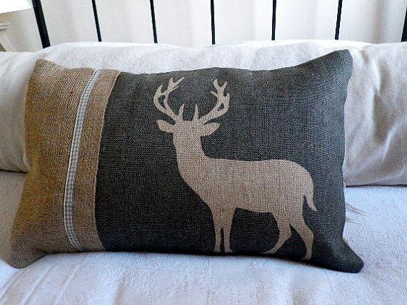 deer pillow:)
