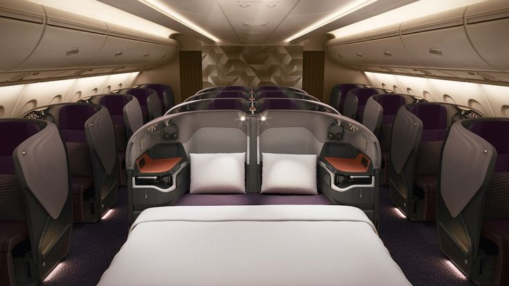 Singapore Airlines : nouvelle Business class sur Airbus A380 (2017)