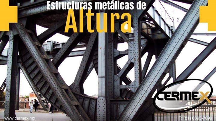 Cermex ofrece  un producto de óptima calidad y un servicio de primer nivel dentro de la industria de la construcción en el ramo de la herrería y todo tipo de estructuras metálicas. #Diseño #Ingenieria  #Fabricación #Montaje #EstructurasMetalicas #Techos #Muros #Fachadas#Elevadores #Puentes - #EscalerasMetalicas #Barandales#EstructurasMetalicasEnMonterrey