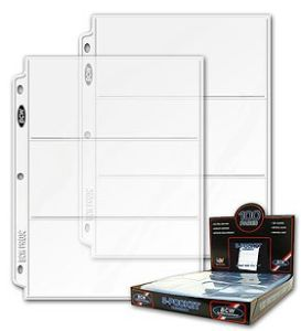 Coupon book page inserts COUPONING 101 – COUPON BINDER CLEAR PLASTIC SHEETS ON SALE